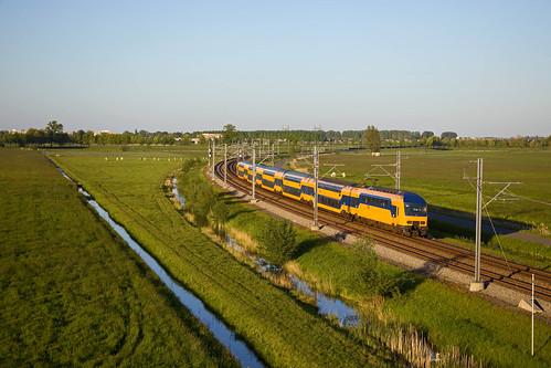 NS NID 7600 - IC 769 Den Haag Centraal - Groningen  - Kampen