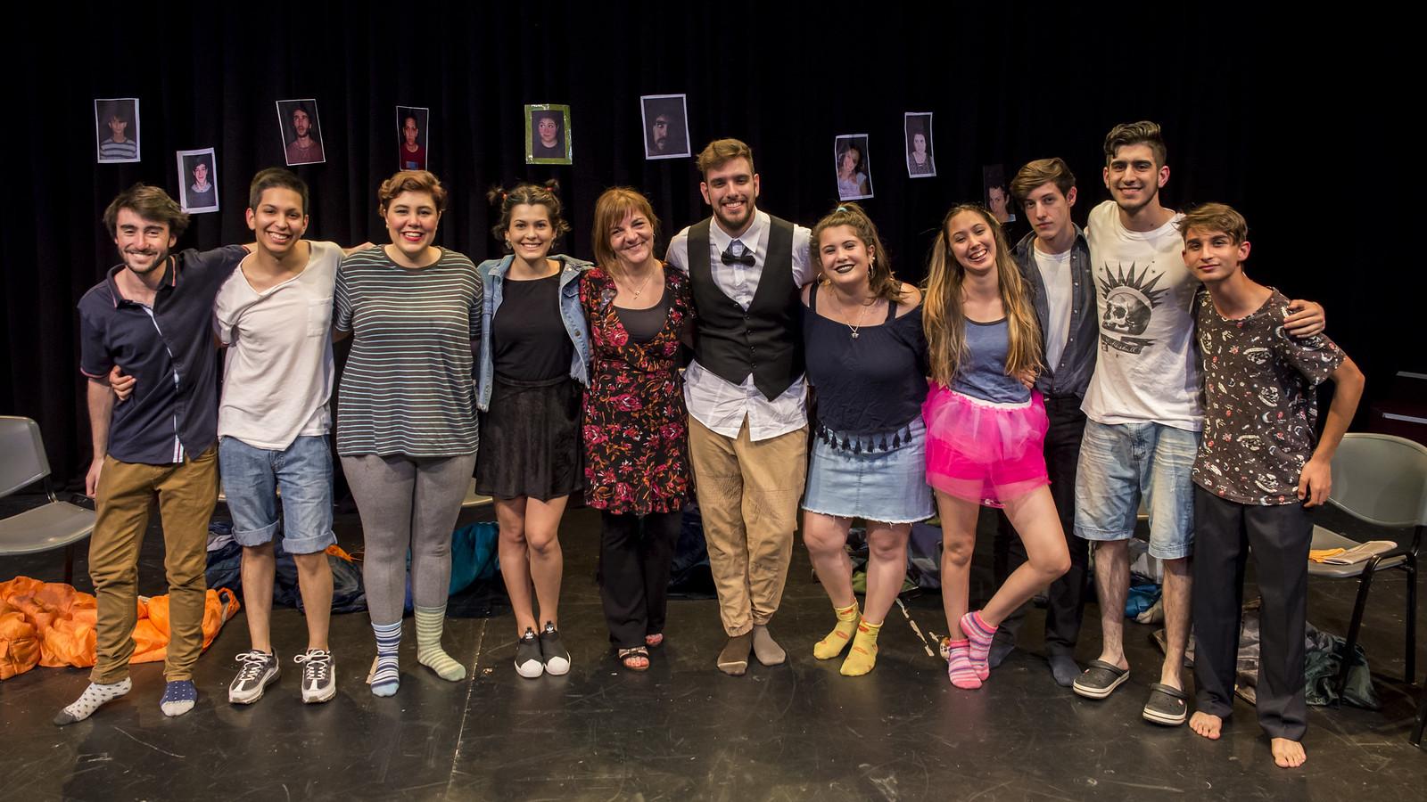 Muestra de teatro - diciembre 2018