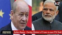 Rafale deal dispute : Foreign Minister of France to meet PM Modi today