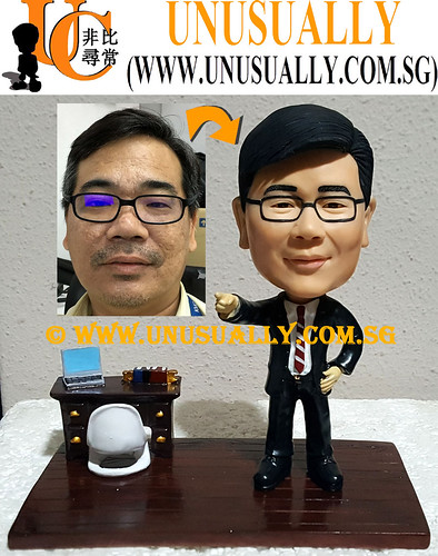 Custom 3D Male Executive At Off Figurine 1 - © www.unusually.com.sg