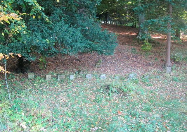 Abbotsford  Pet's Graves, Sir Walter Scott
