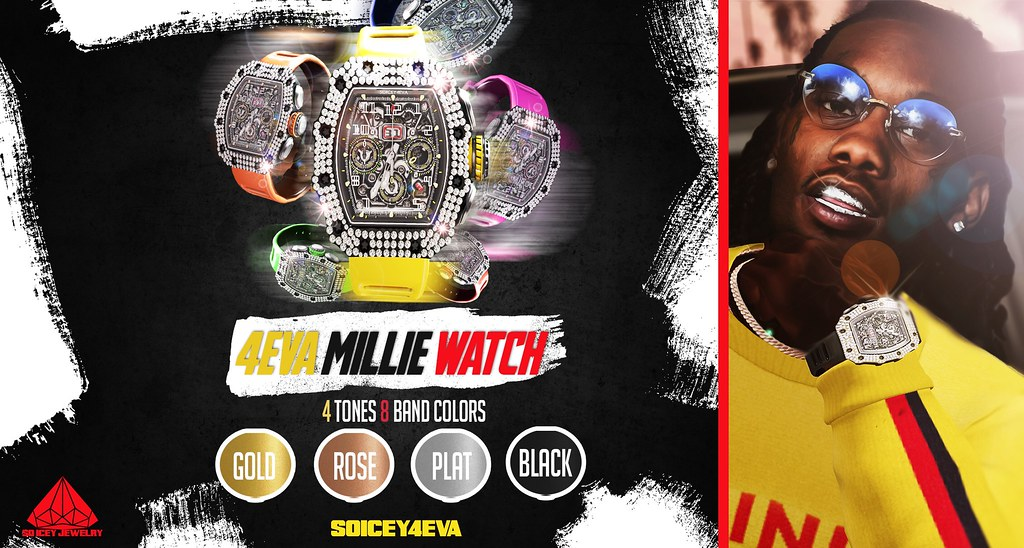 ?SOICEY4EVA?  ?4EVA MILLIE WATCH❄️ Now Available!