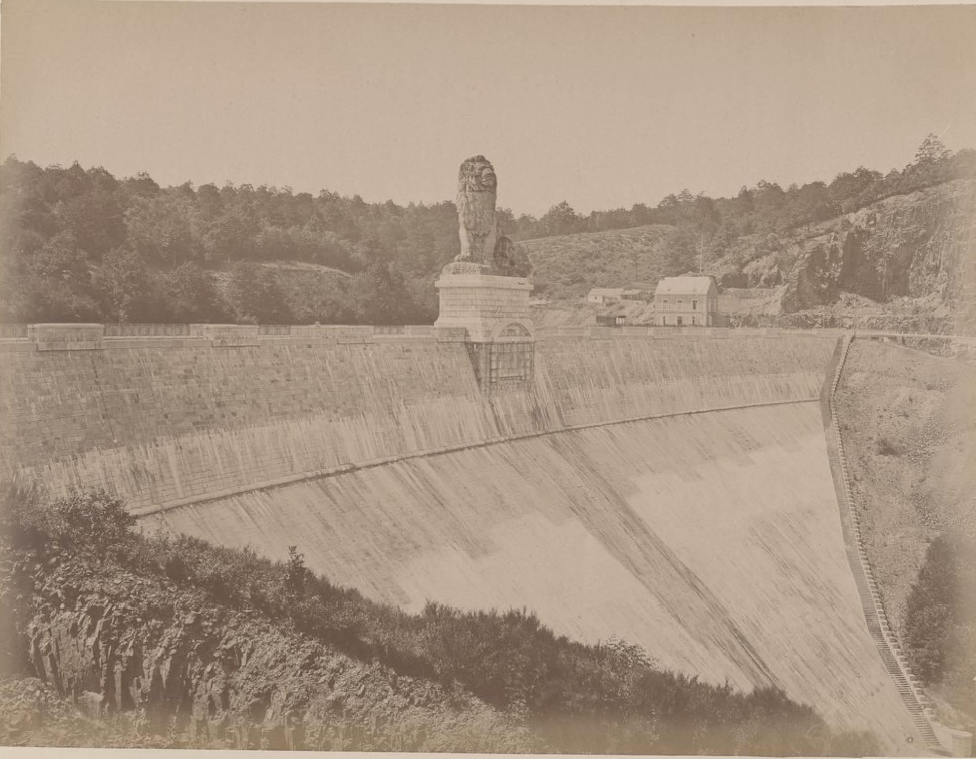 Бельгия. Окрестности Спа. Дамба Гилеппе, 21 мая 1888