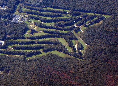 aerial usa newjersey golfcourse golf whiteoakscountryclubgolf
