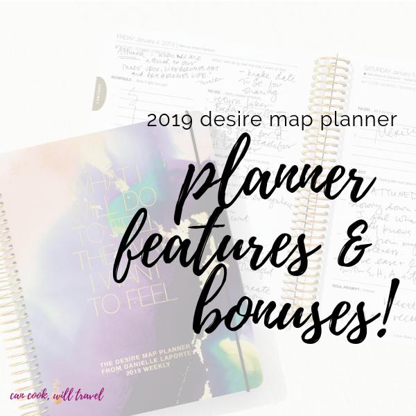 2019 Desire Map Planner