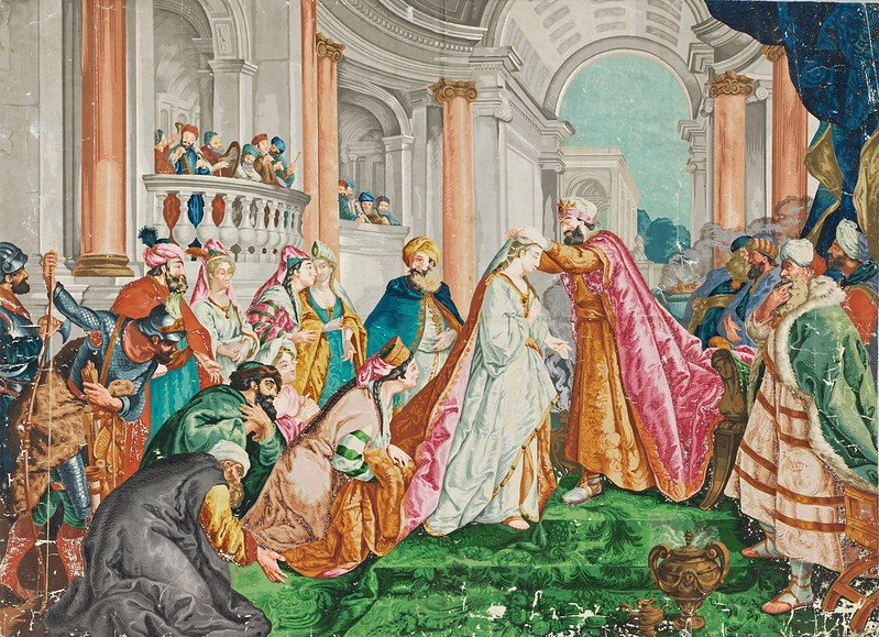 Jean François de Troy - Le Couronnement d'Esther