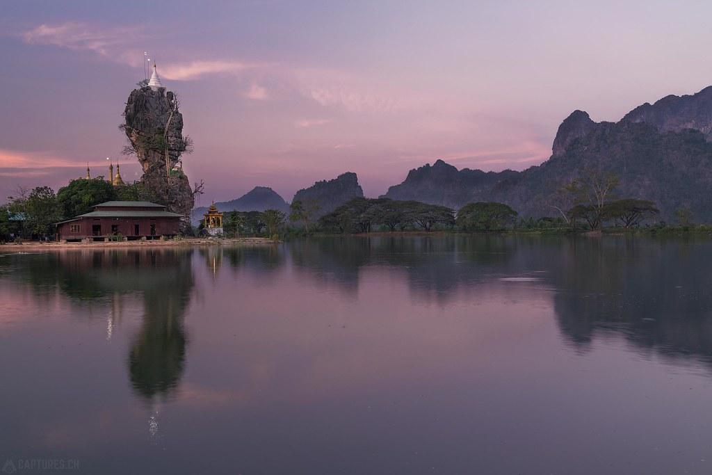 Dusk - Kyaut Ka Latt Pagoda