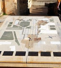 Plan of the Abbaye de Cluny, Saône-et-Loire, France.