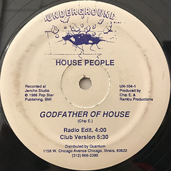 HOUSE PEOPLE:GODFATHER OF HOUSE(LABEL SIDE-A)