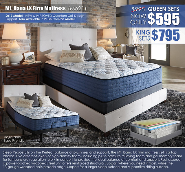 Mt Dana LX Firm 2019 Mattress_M62131