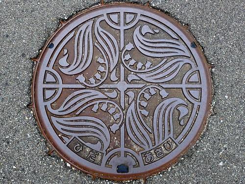 Asahi Gifu, manhole cover (岐阜県朝日村のマンホール)
