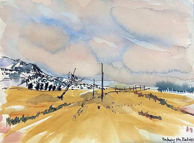 190119 Entering Rockies Colorado