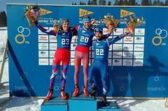 Rauchfuss obhájil na MS v zimním triatlonu bronz