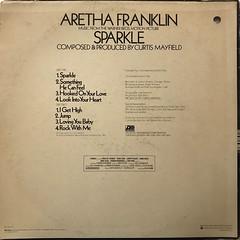 ARETHA FRANKLIN:SPARKLE(JACKET B)