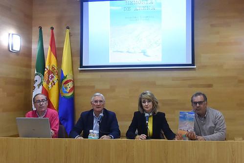 """Presentación del libro """"Memoria de Arena"""" de Francisco García Corral"""