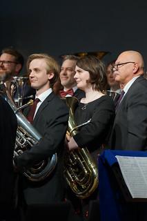 Eufonium i Immanuel Brass Stockholm