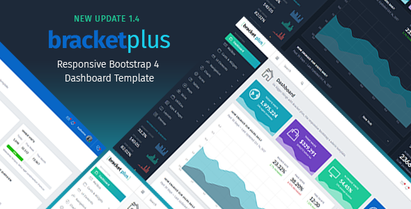 Bracket Plus v1.4 – Responsive Bootstrap 4 Admin Dashboard Template