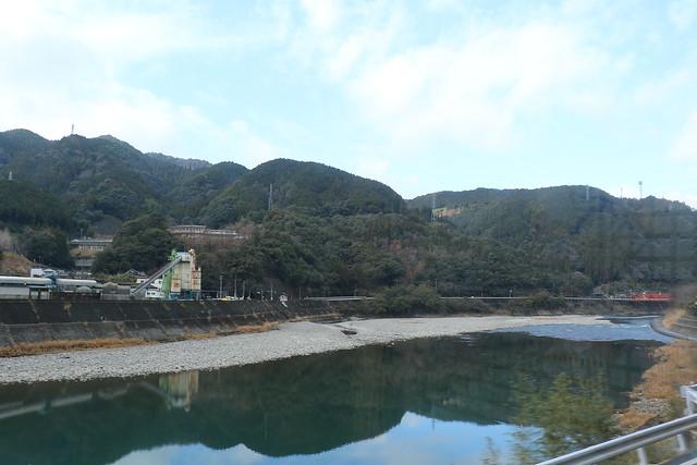 球磨川の眺め