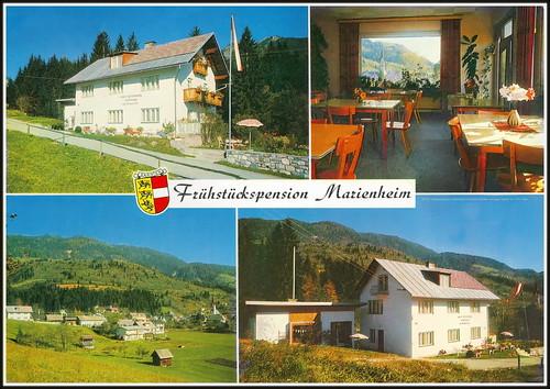 6972 R Frühstückspension Marienheim Kötschach Kärnten, Hermagor, Bezirk 19.I.1072. Alika