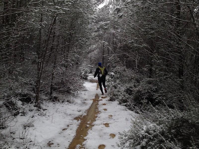 Neige 5 février 2015 Trets