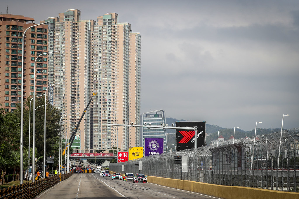 86 GUERRIERI Esteban, (arg), Honda Civic TCR team ALL-INKL.COM Munnich Motorsport, action during the 2018 FIA WTCR World Touring Car cup of Macau, Circuito da Guia, from november  15 to 18 - Photo Alexandre Guillaumot / DPPI