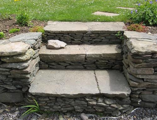garden steps, Seannachoill