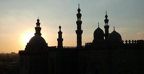 egypt egyptian cairo sky sun sunrise sundown sunset shot photo mobile islamic history historical era architecture building mosque minaret