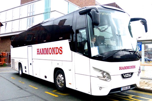 SO15 UBZ 'Hammonds', Nottingham. VDL FHD2 Futura on Dennis Basford's railsroadsrunways.blogspot.co.uk'