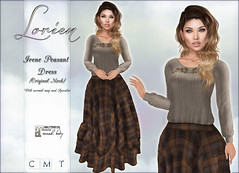 LORIEN IRENE PEASANT DRESS