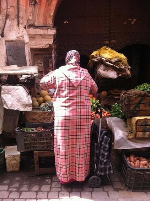 marrakech tartan style