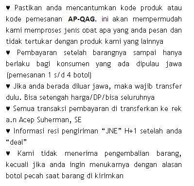 QnC Jelly Gamat Di Kabupaten Agam