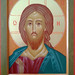 2016 Icône du Christ Pantocrator Sauveur - Christ the Savior Icon.  Main de - Hand of Francine Godbout