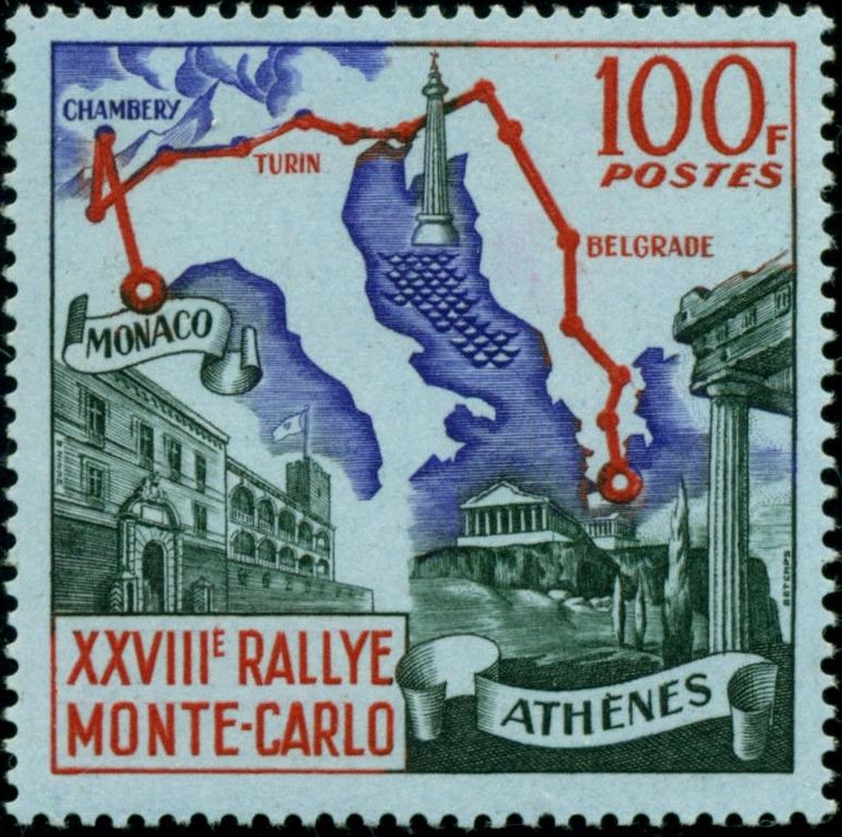 Monaco - Scott #437 (1959)