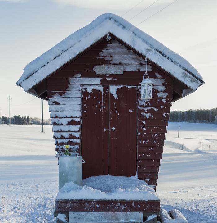Lähiseutumatkailu talvi maaseutu maitolaituri