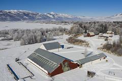 Liberty Barn Mural Outside Huntsville Utah