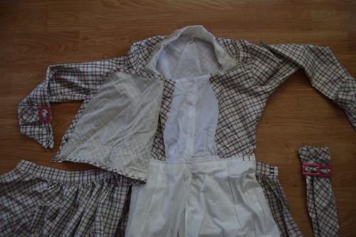 Plaid Dress Fastenings 3