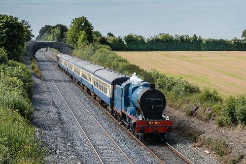 Steam train.