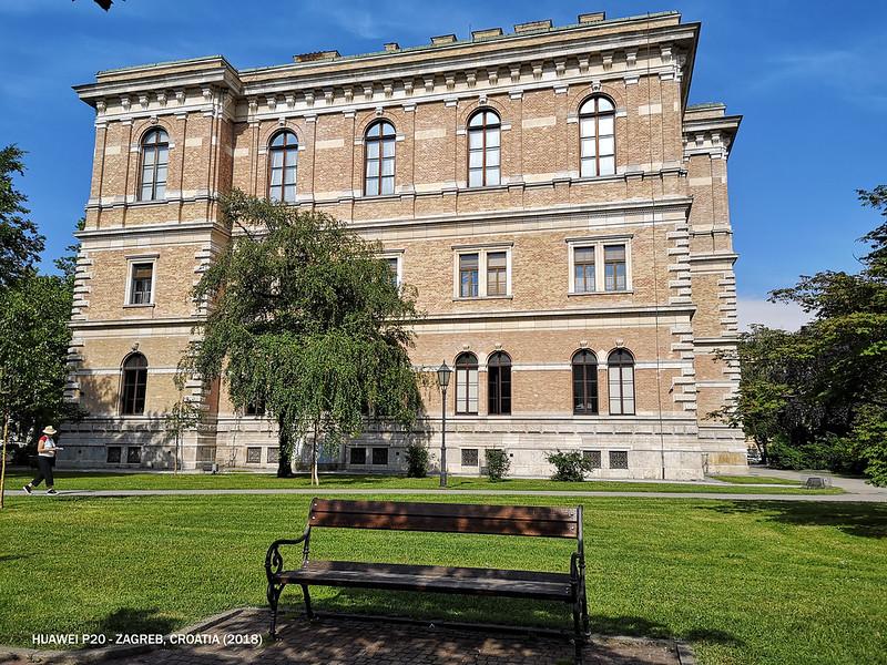 2018 Croatia Zagreb Random Building
