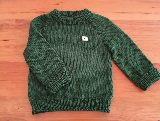 Toddler Green Raglan