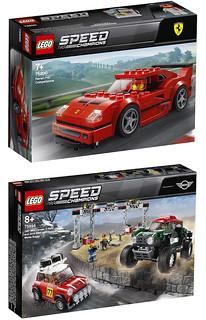 拉風跑車、硬派肌肉車、古典拉力賽車上陣!! LEGO 75890~75894 Speed Champions 系列 2019年部分盒組登場!