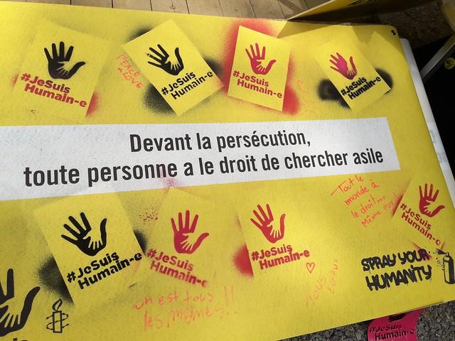 Festivals d'été 2018 #JeSuisHumain