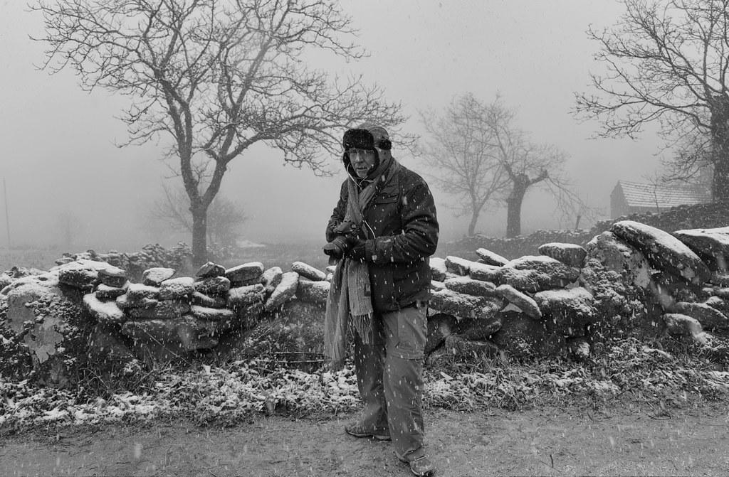 Fotógrafos em dia de nevada - Barroso (7)