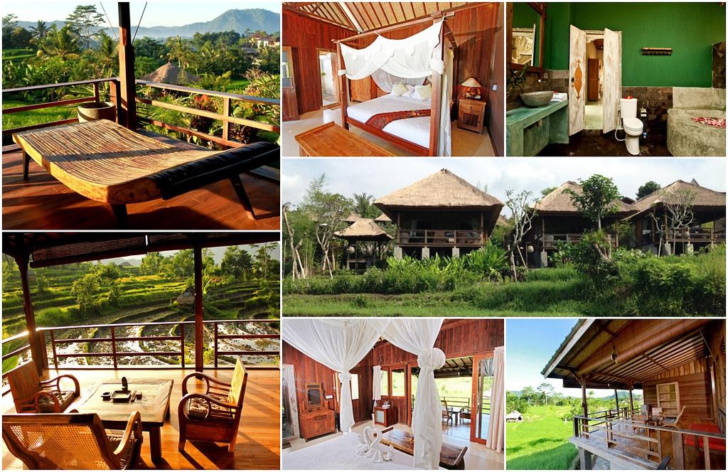 Sawah Indah Villa pokój delux bungalow