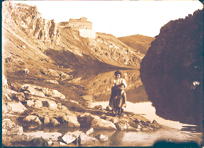 Convento de San Gil hacia 1910. Foto de Pedro Román, Archivo Histórico Provincial, JCCM. Fondo Rodríguez signaturaR-151-2-05