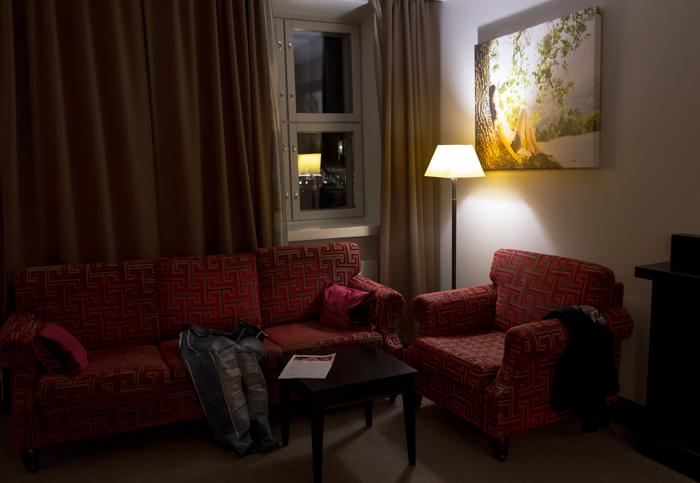 Saimaan Kylpylä Imatra Castle hotelli huone kuva