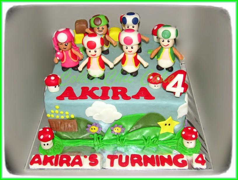 Cake toads AKIRA 20 cm