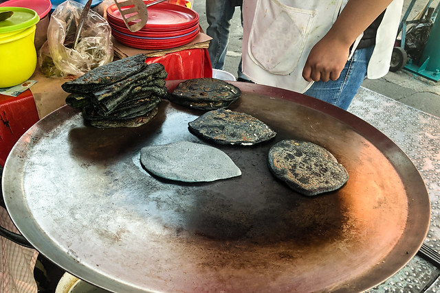 Tlacoyo Stand