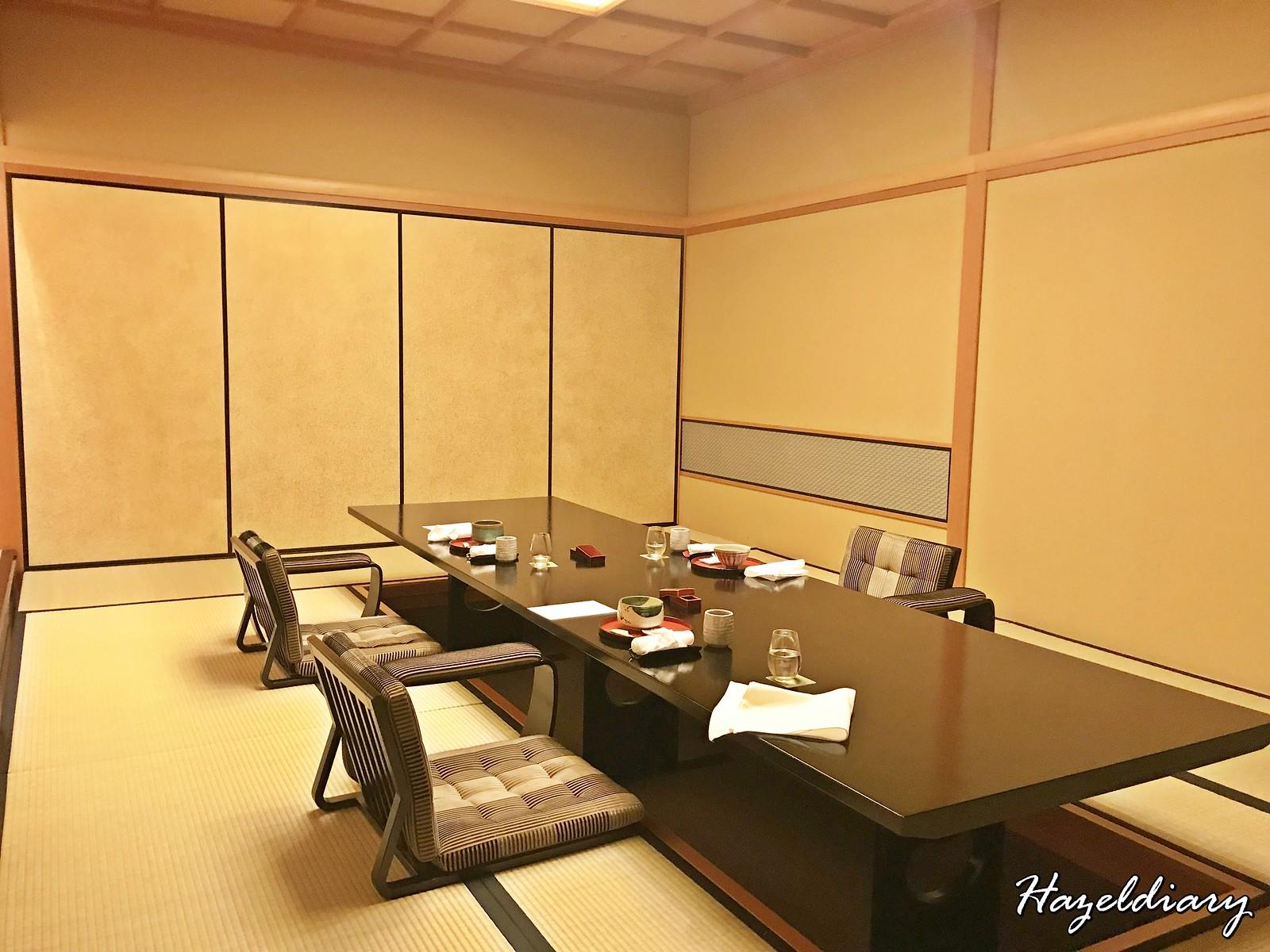 kaiseki soujuan keio plaza hotel tokyo-Private Room