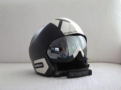Lyžařská helma Kask Stealth Black-White - titulní fotka