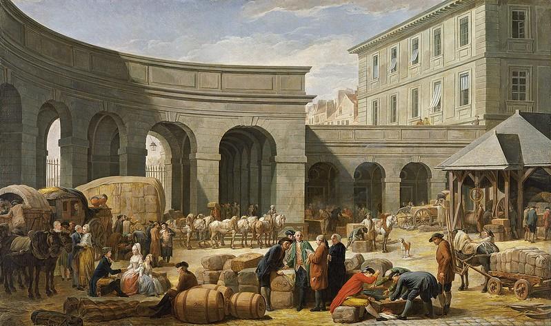 Nicolas-Bernard Lépicié - El patio de la aduana (1775)